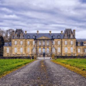 Photographie d'un château à évreux