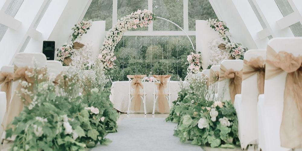 Photo d'une salle de cérémonie à prendre en compte dans le coût de son mariage