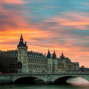 Photographie d'un paysage d'île de France