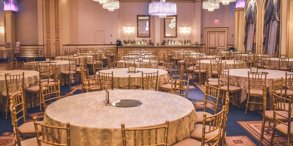 Organisation des tables de mariage