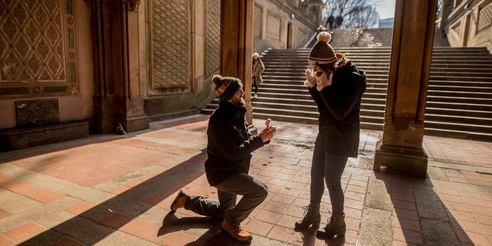 L'hiver est l'époque parfaite pour les plus belles demandes en mariage