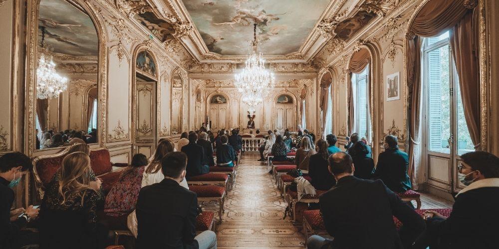 Photo du choix de mairie des mariés