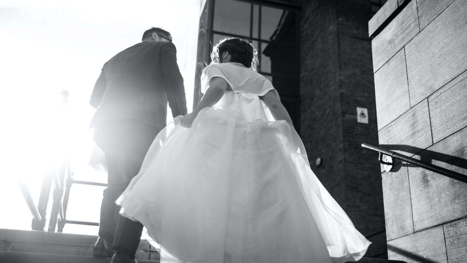 Les mariés à Albi