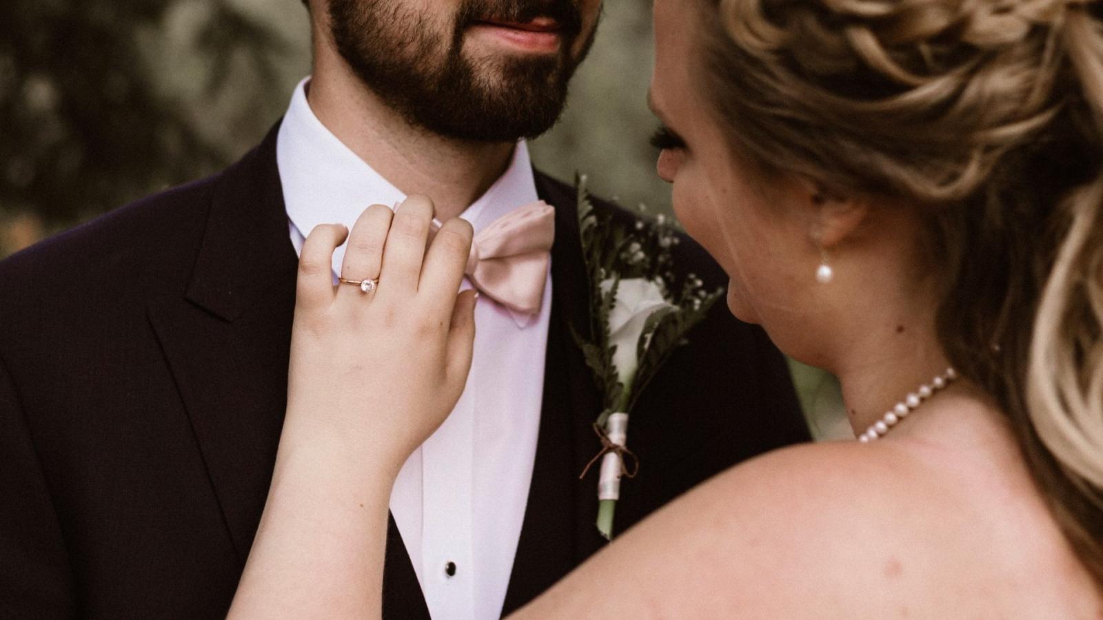 Les mariés à Annemasse