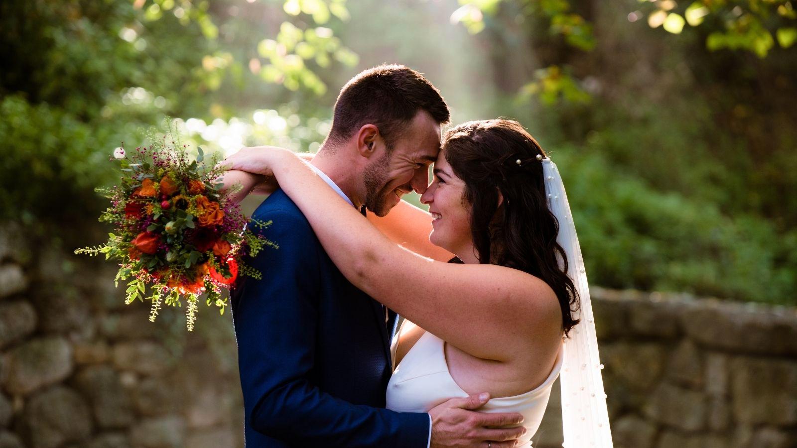 Les mariés à Arcachon