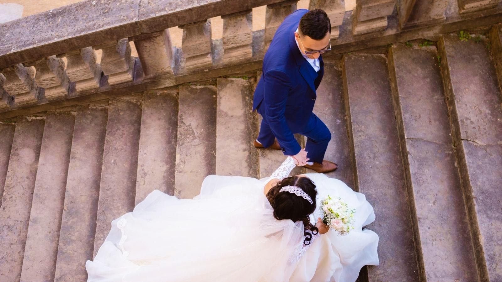 Photo des mariés à Armentières