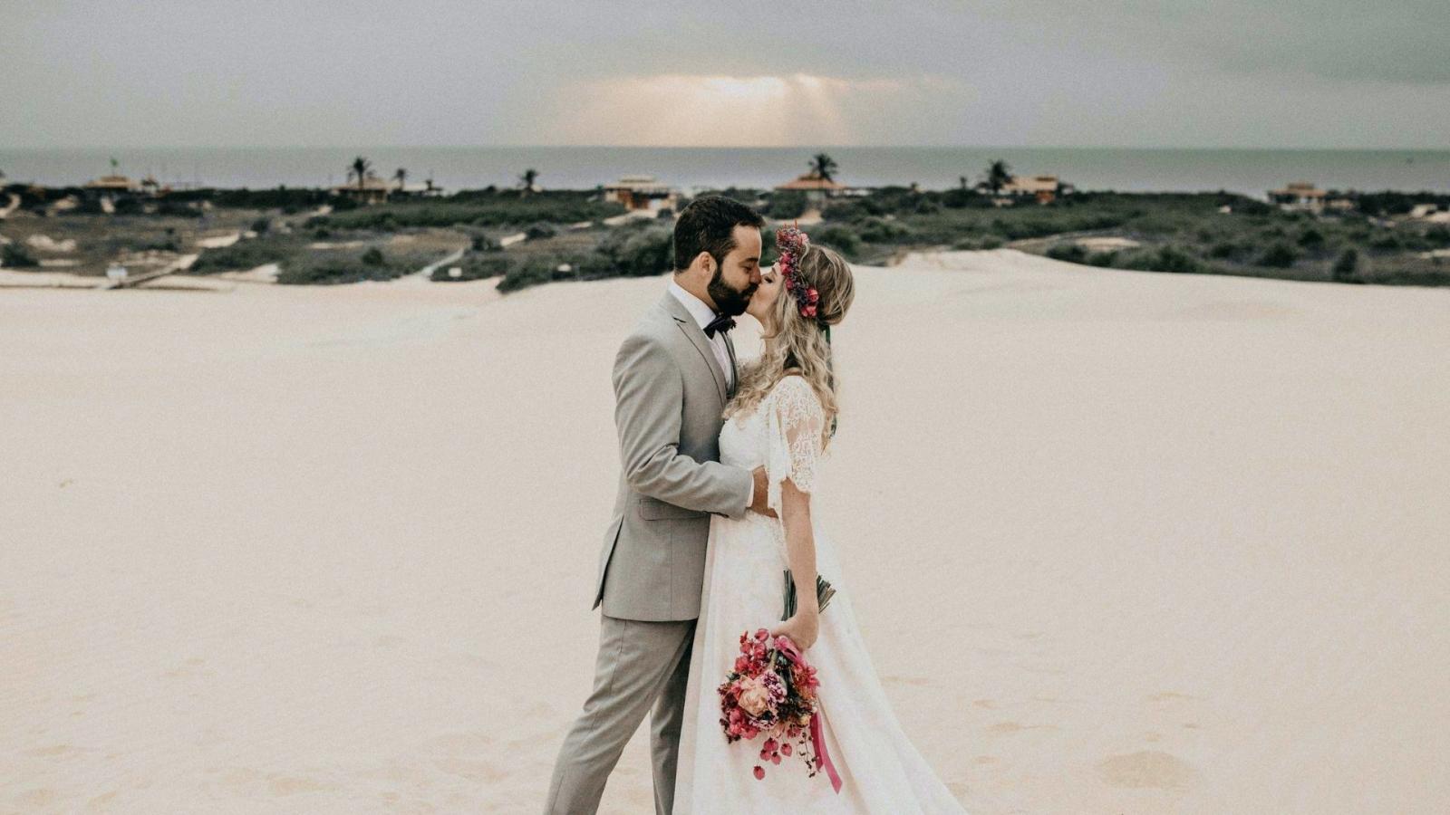 Photo des mariés à Aubagne