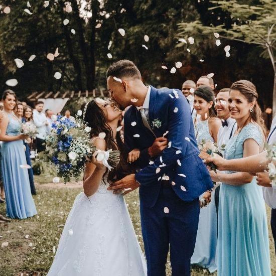 Photo du marié et de la marié