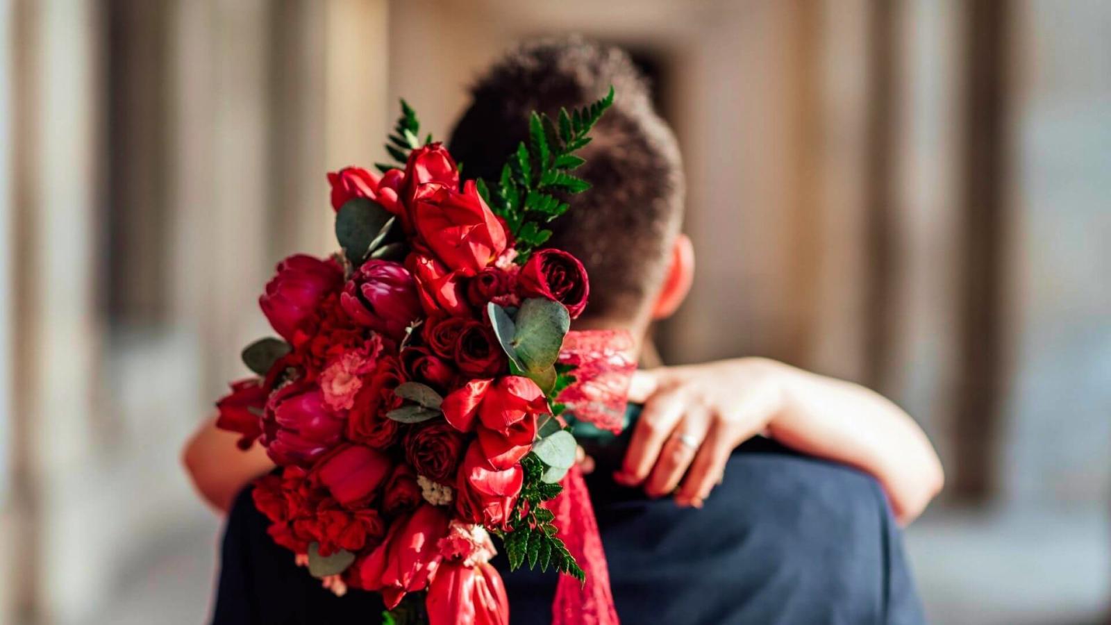Photo des mariés à Beaucaire