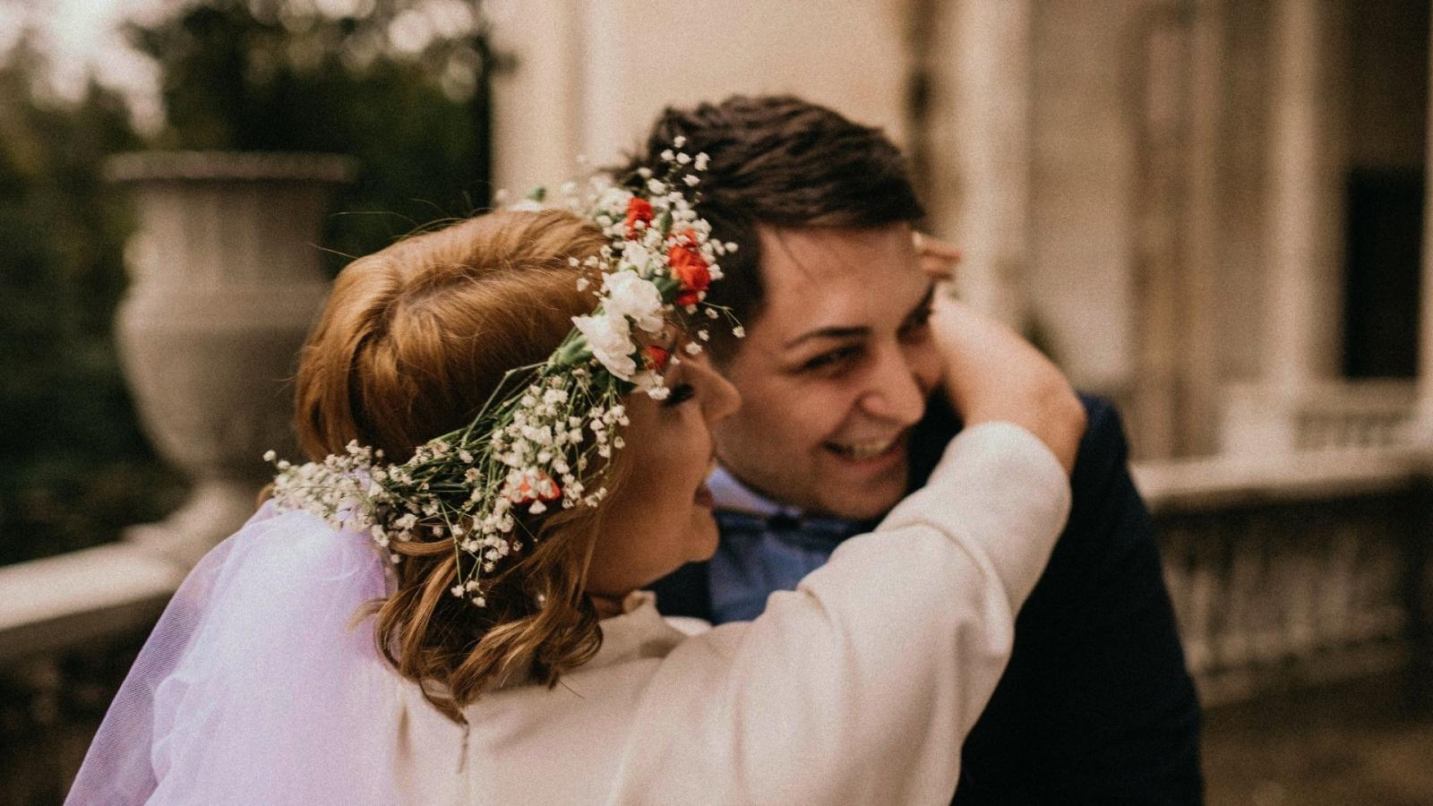 Un couple de mariés à Cavaillon