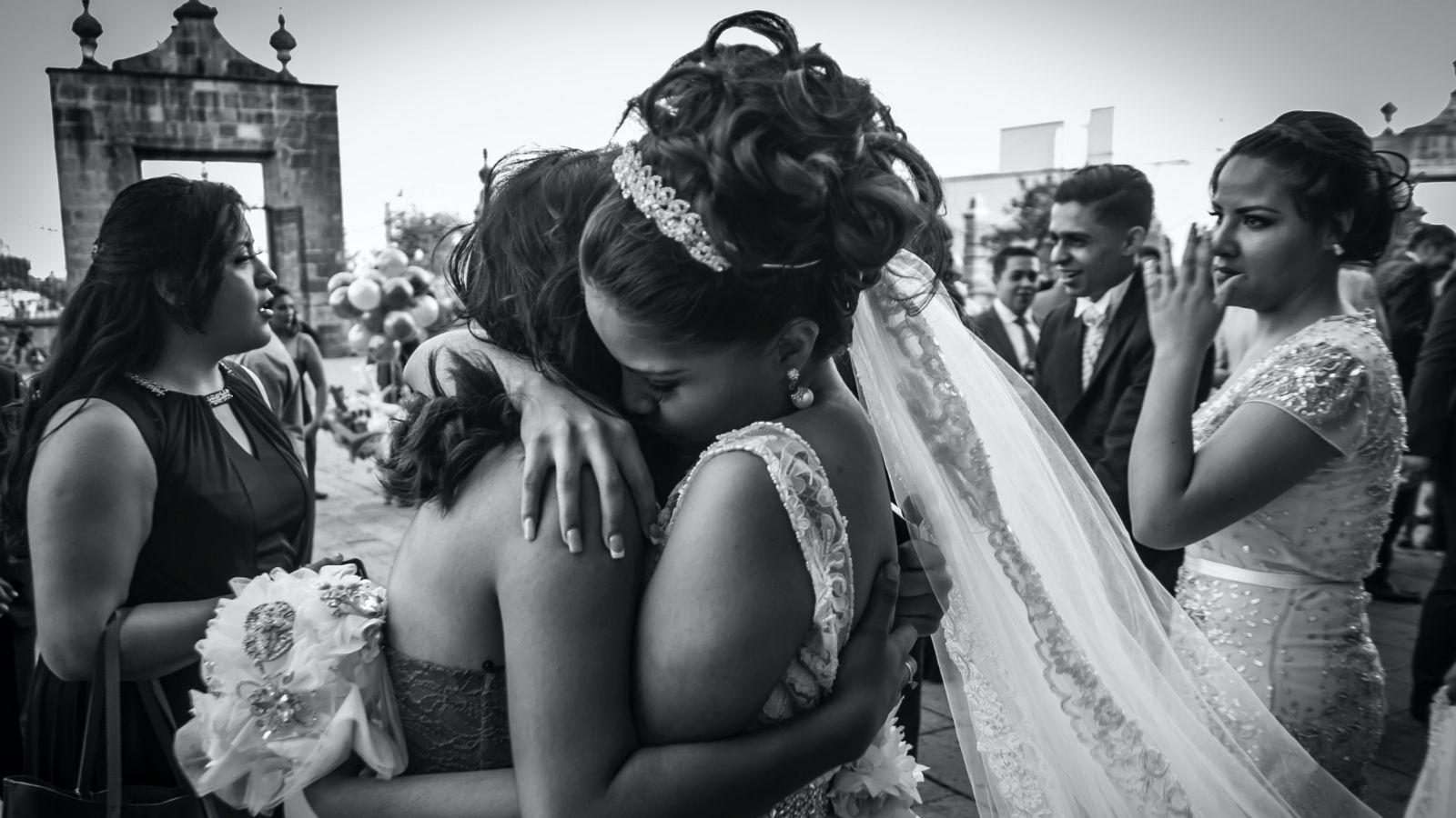 Un couple de mariés à Champagnole