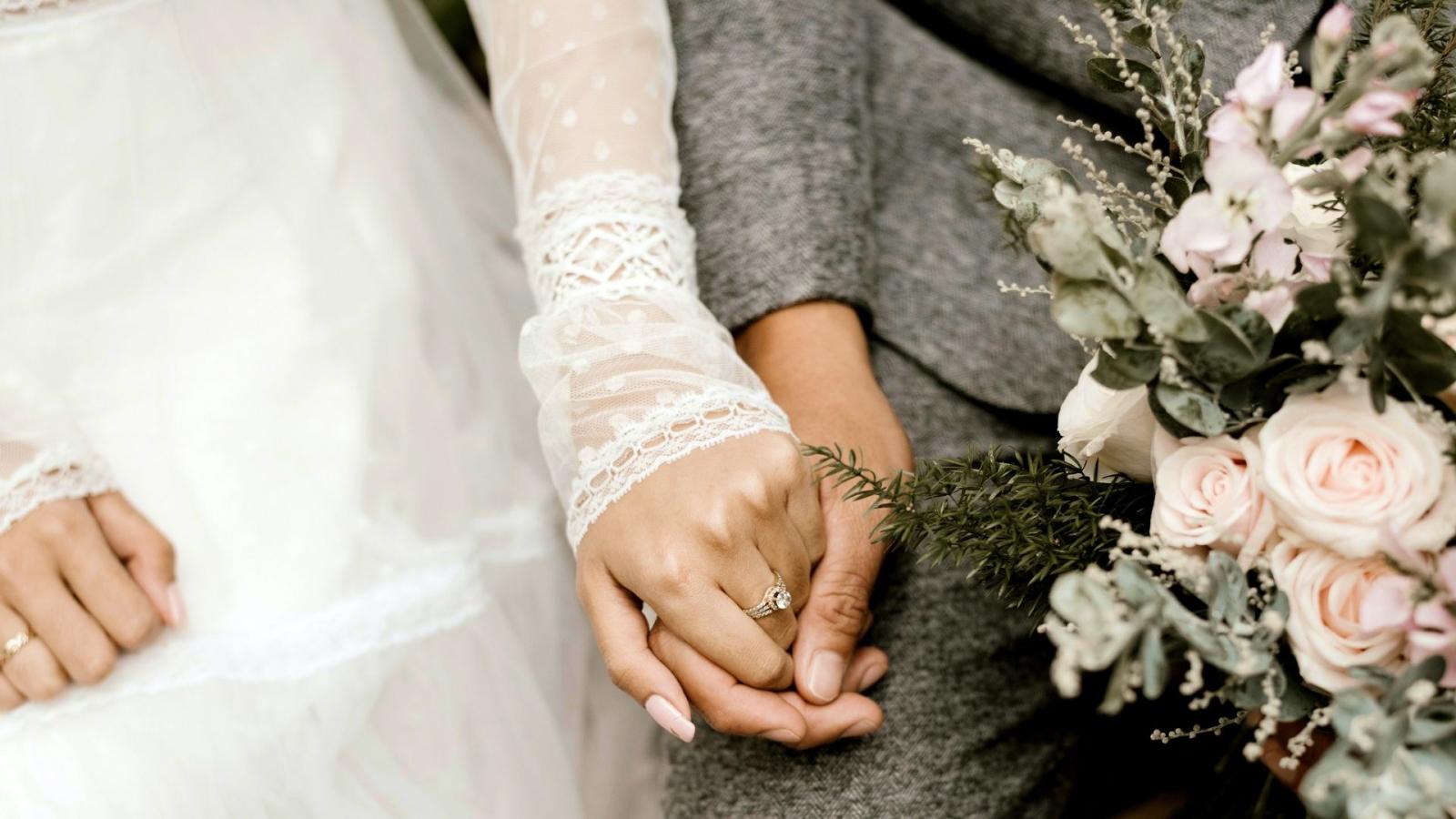 Le marié et la mariée à Clichy
