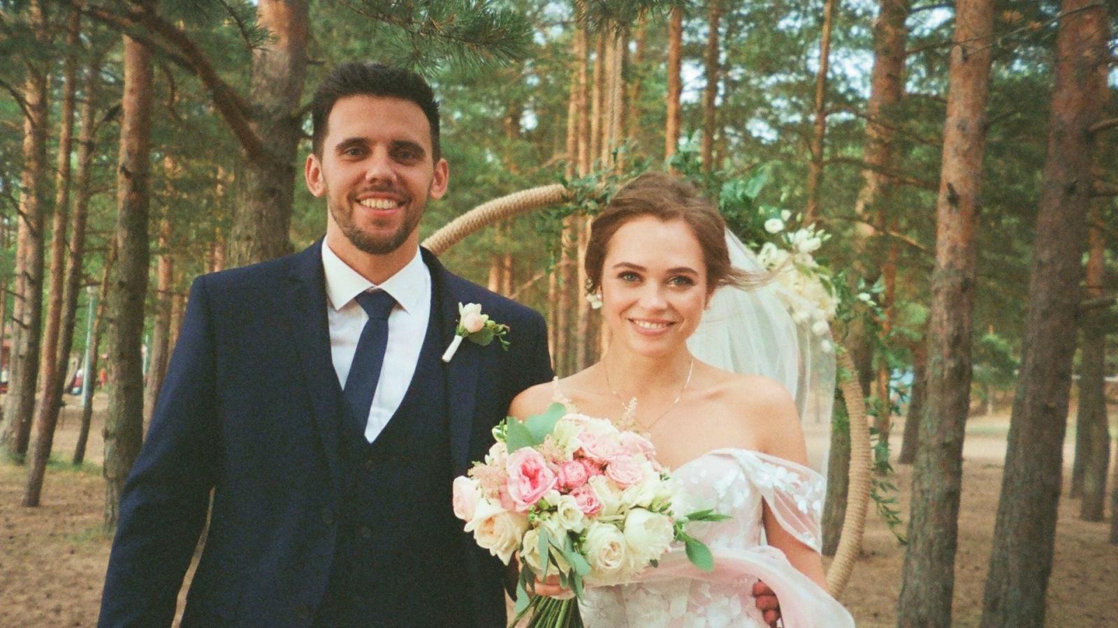 Photo des mariés se trouvant à Creil