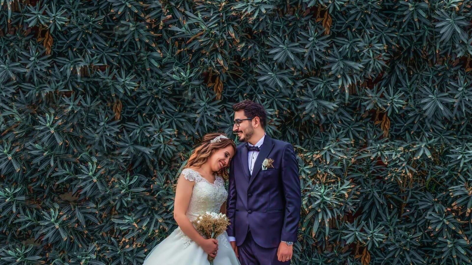 Les mariés ensemble à Épinal