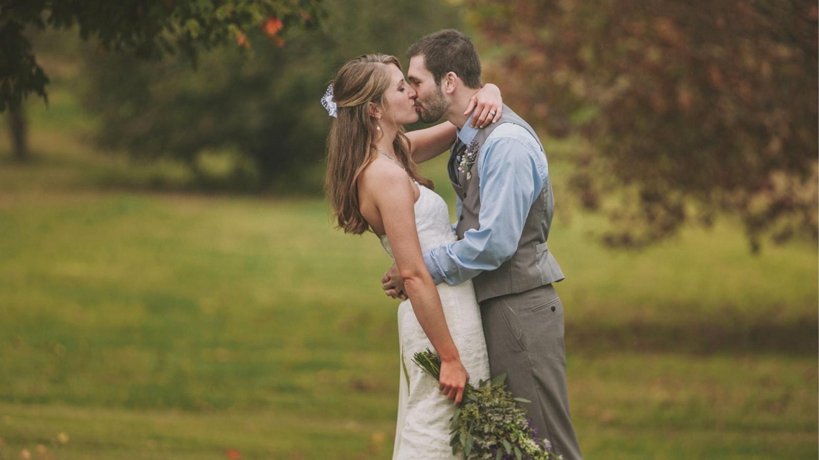 Photo d'un couple de mariés à Hazebrouck