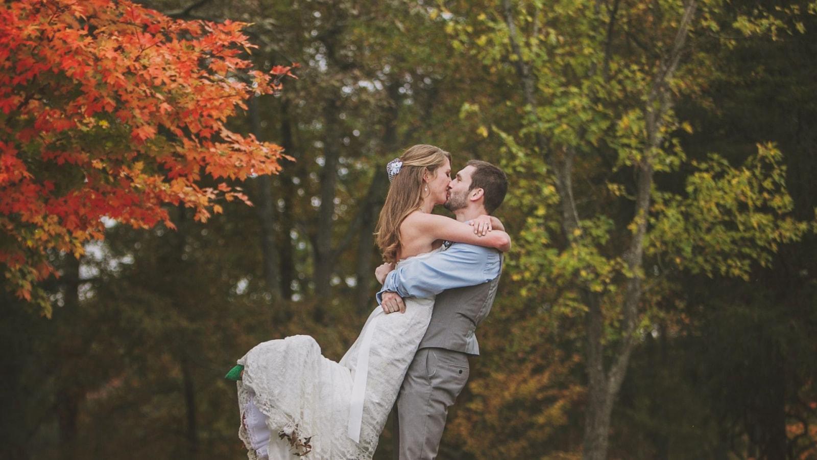 Photo du marié et de la marié à Hendaye