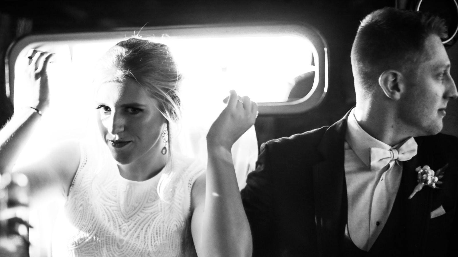 Photo du marié et de la marié à Issy-les-Moulineaux