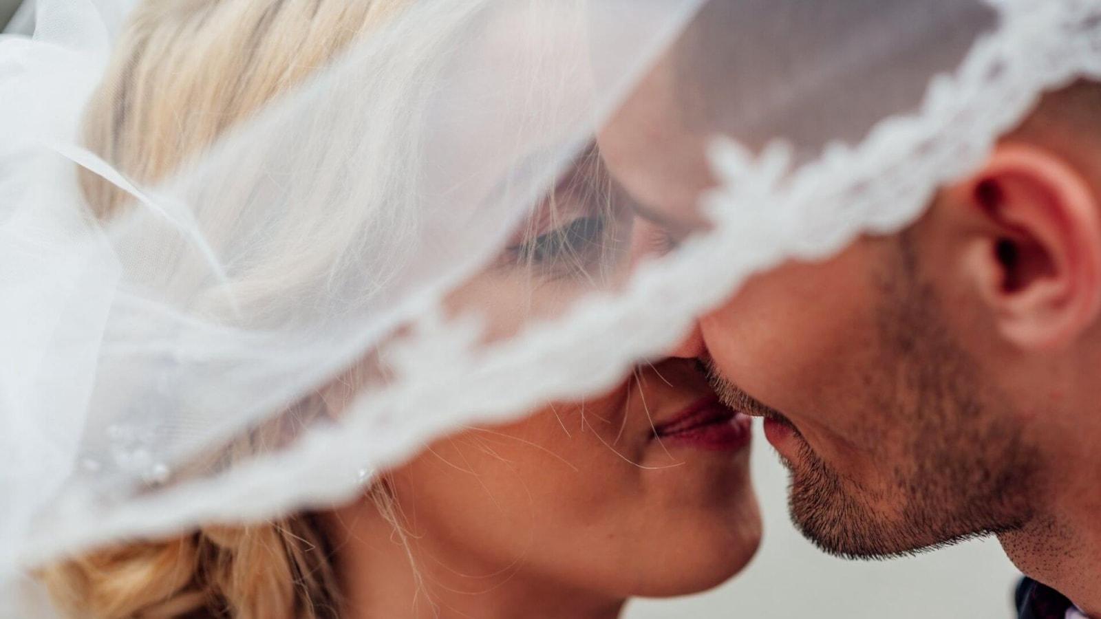 Photo du marié et de la marié à Istres