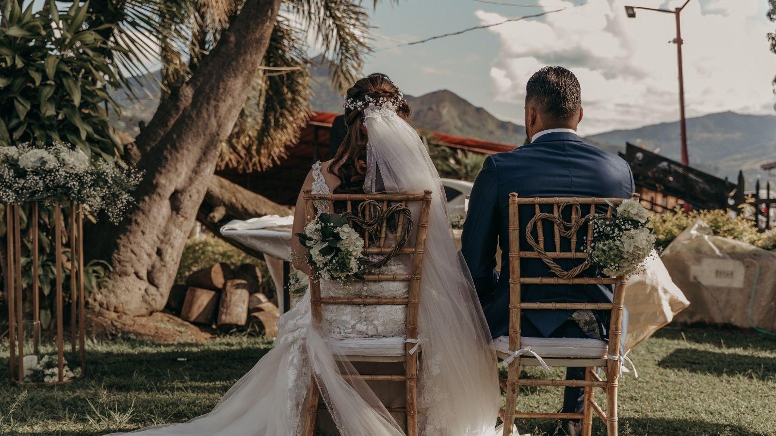Photo du marié et de la marié à Lamballe