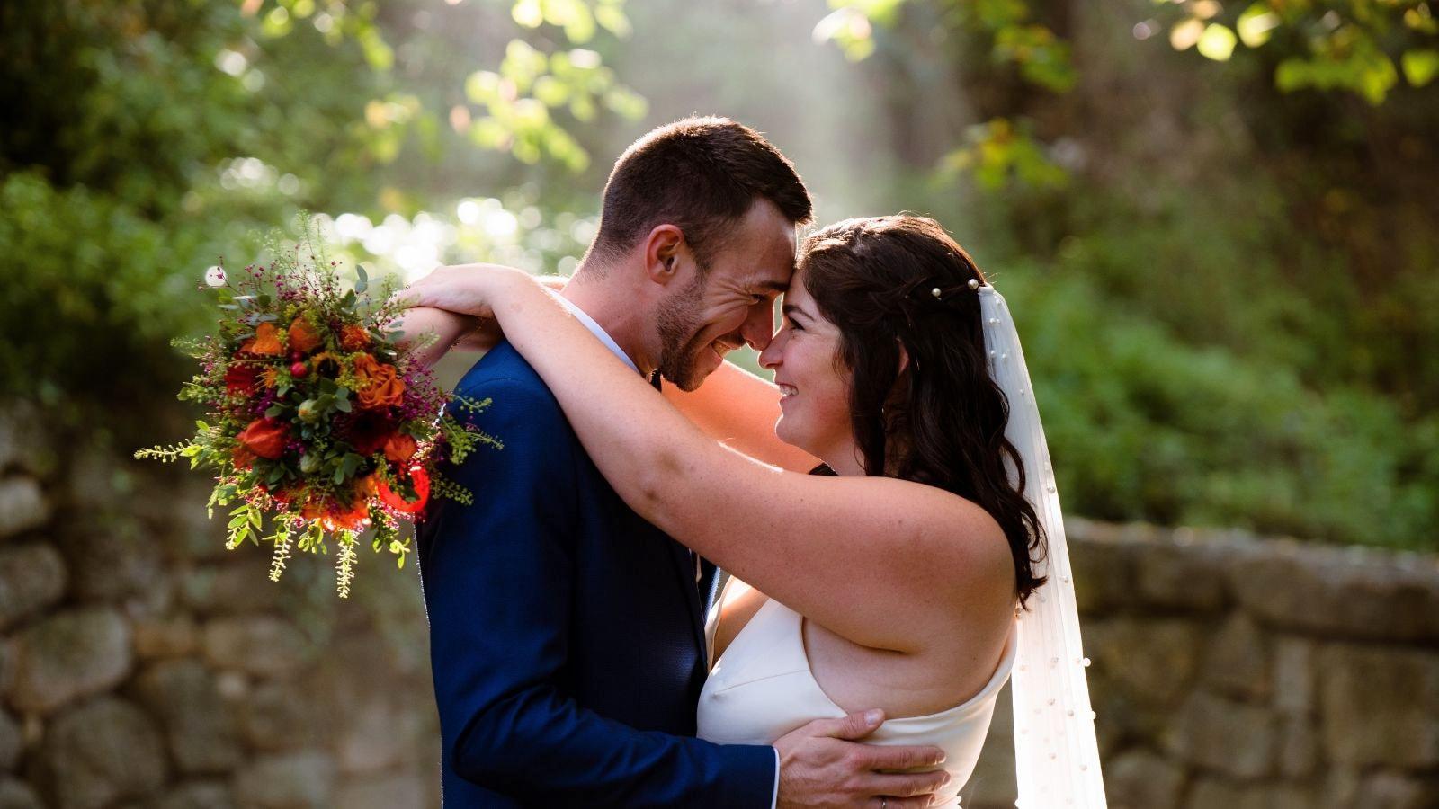 Photo du marié et de la marié à Laval