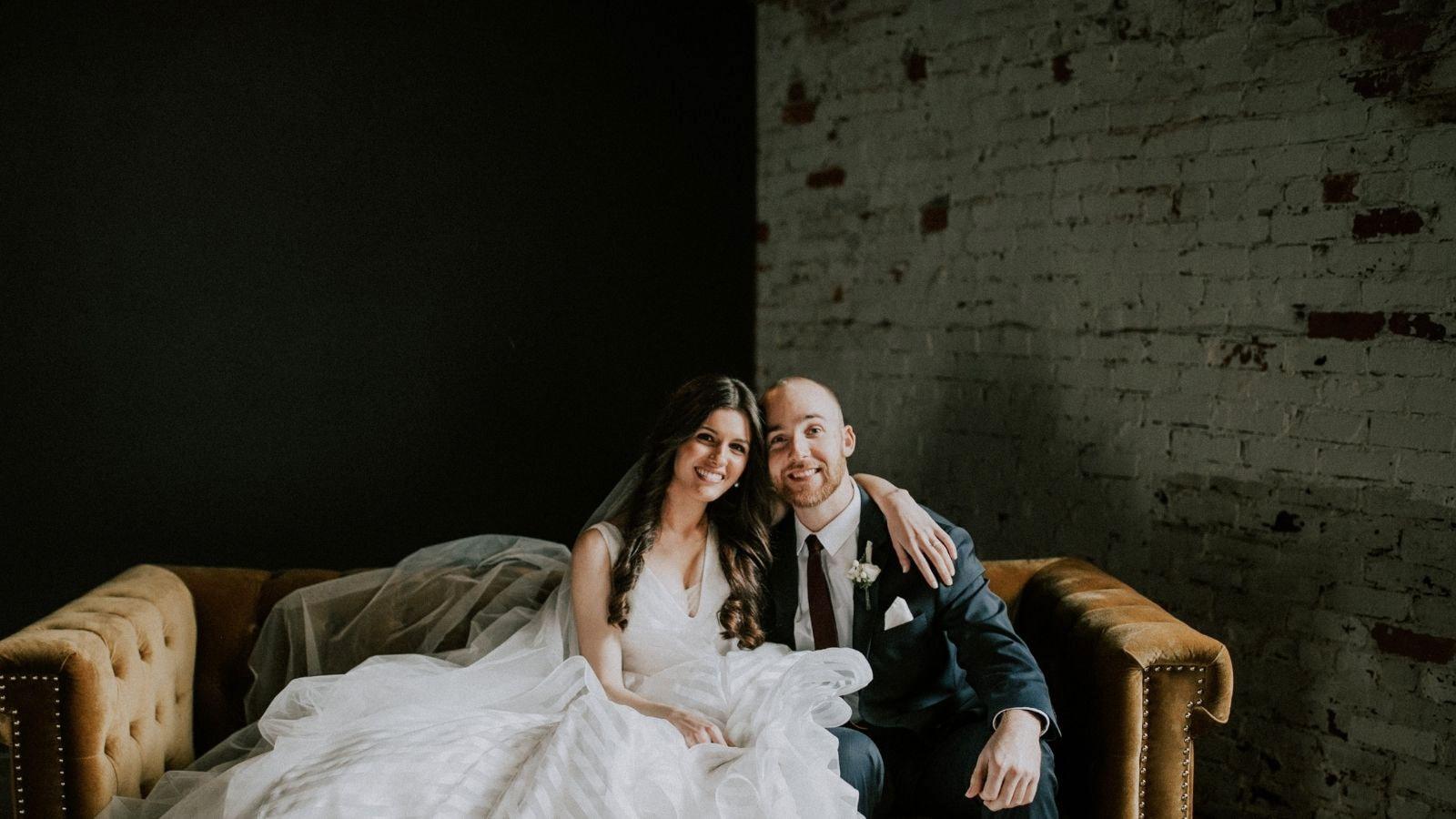 Photo du marié et de la marié à Le Creusot