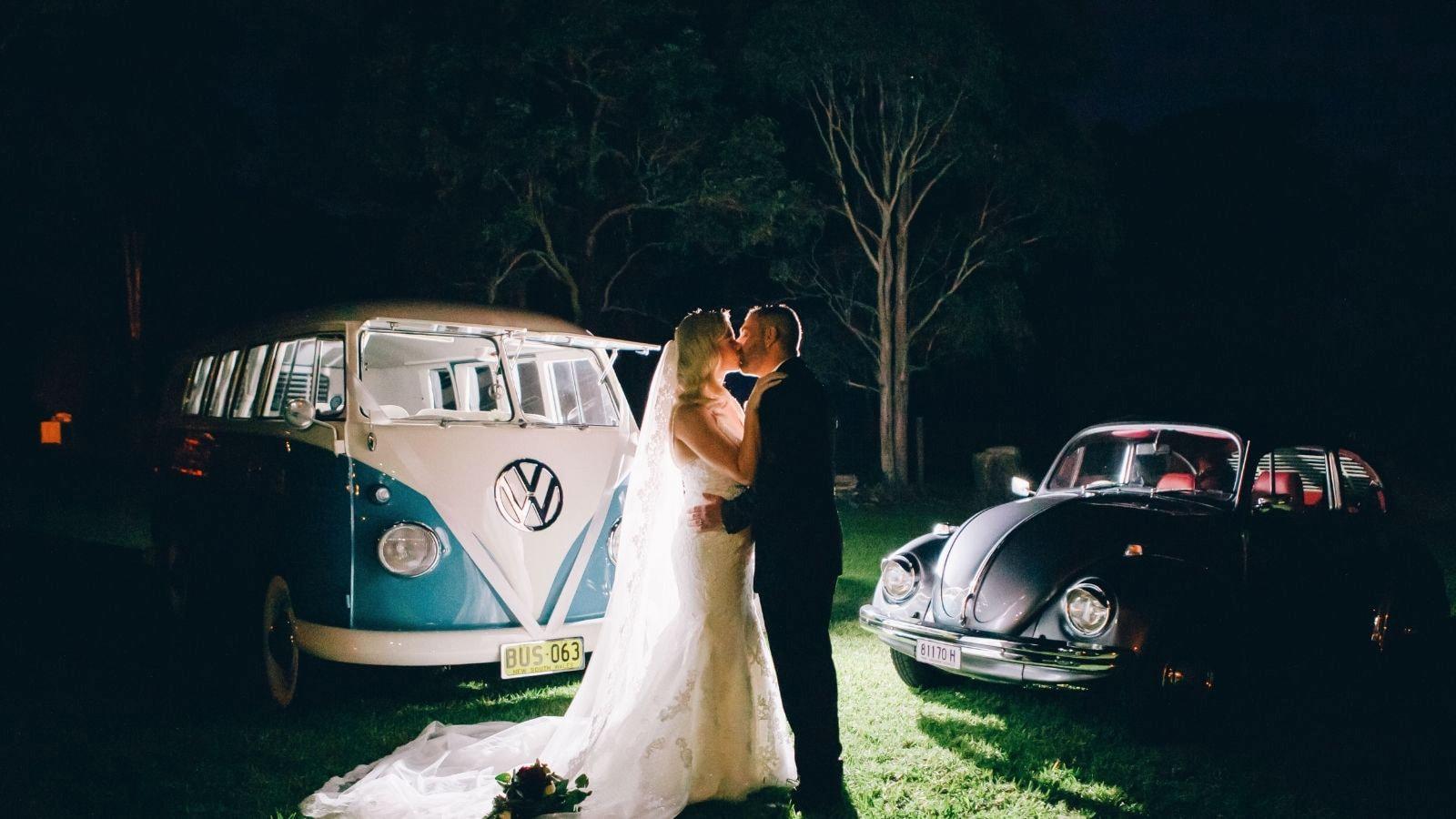 Photo du marié et de la marié à Les Herbiers