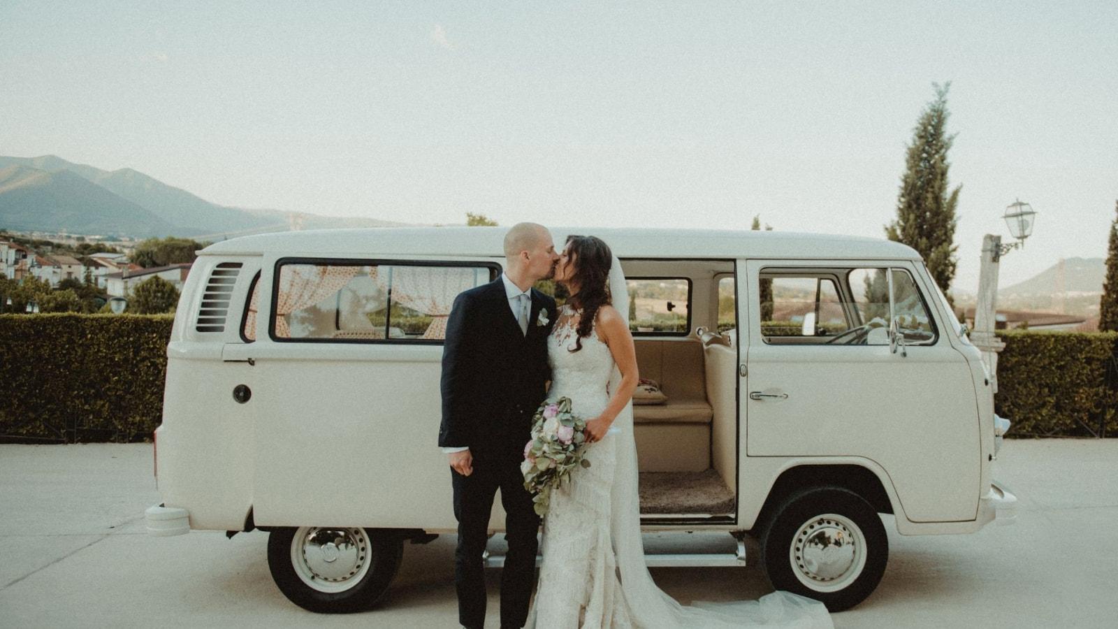 Photo des mariés ensemble à Limoges