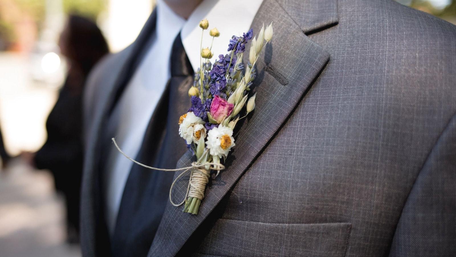 Photo des mariés ensemble à Marmande