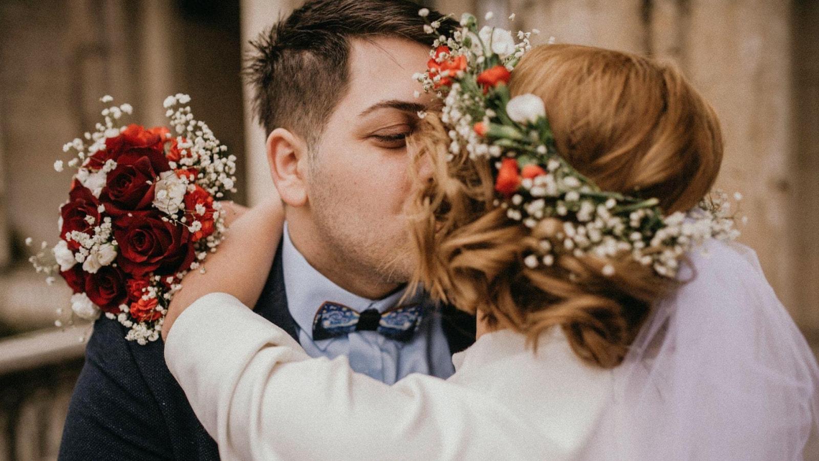 Les mariés célèbrent leur union à Niort