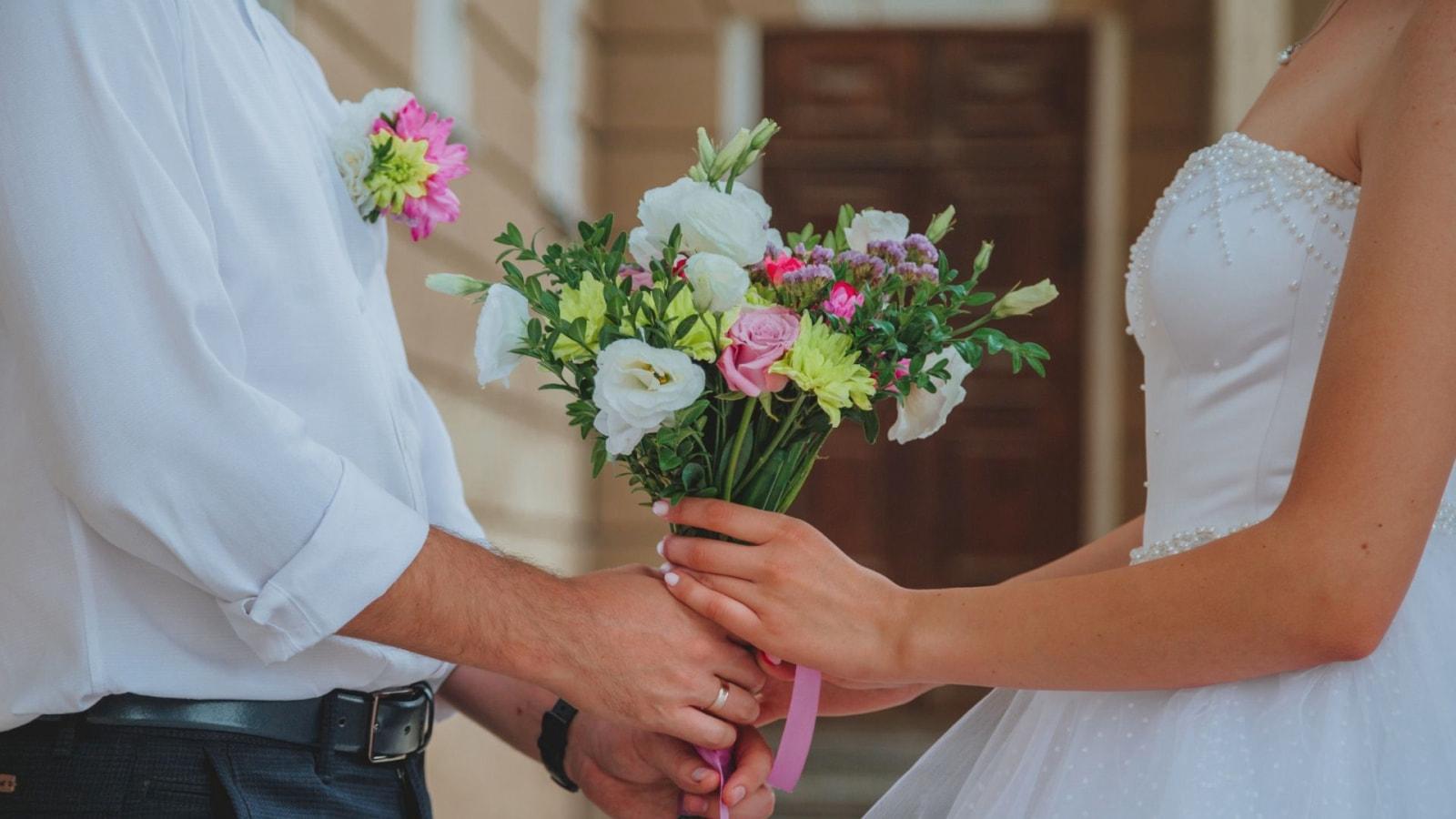 Les mariés célèbrent leur union à Noyon
