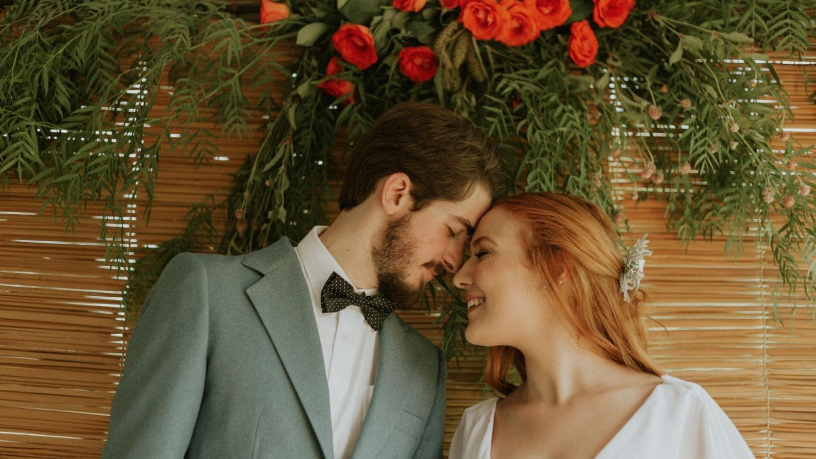 Les mariés célèbrent leur union à Obernai