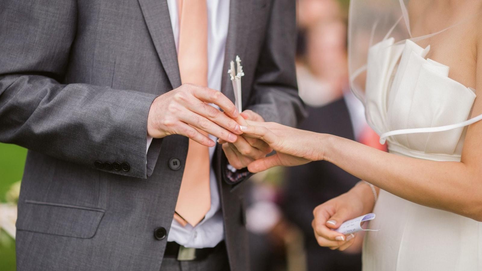 Les mariés célèbrent leur union à Paimpol