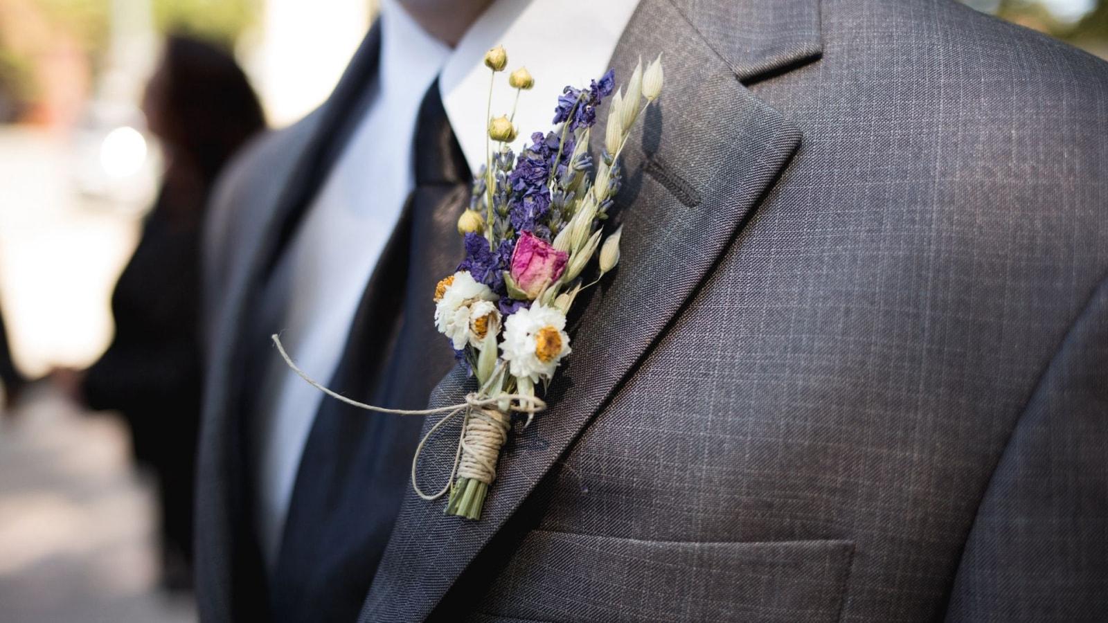 Vue des mariés à Saumur