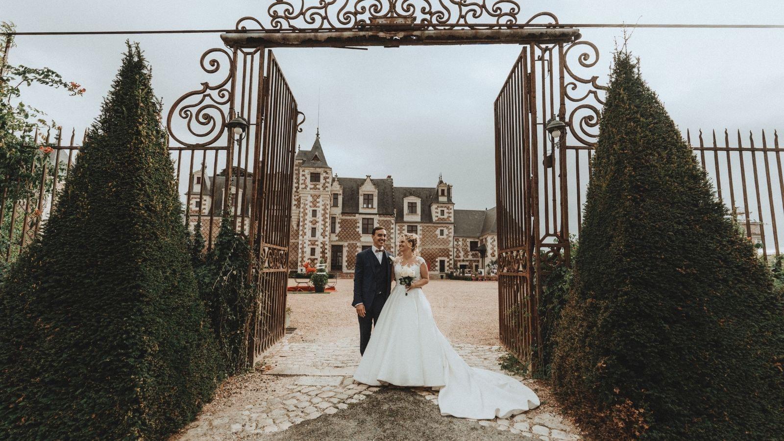 Vue des mariés à Talence