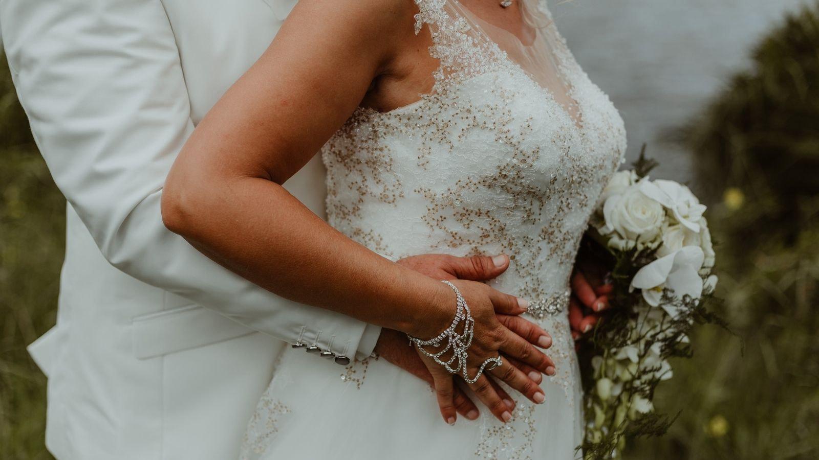 Vue des mariés à Tarbes