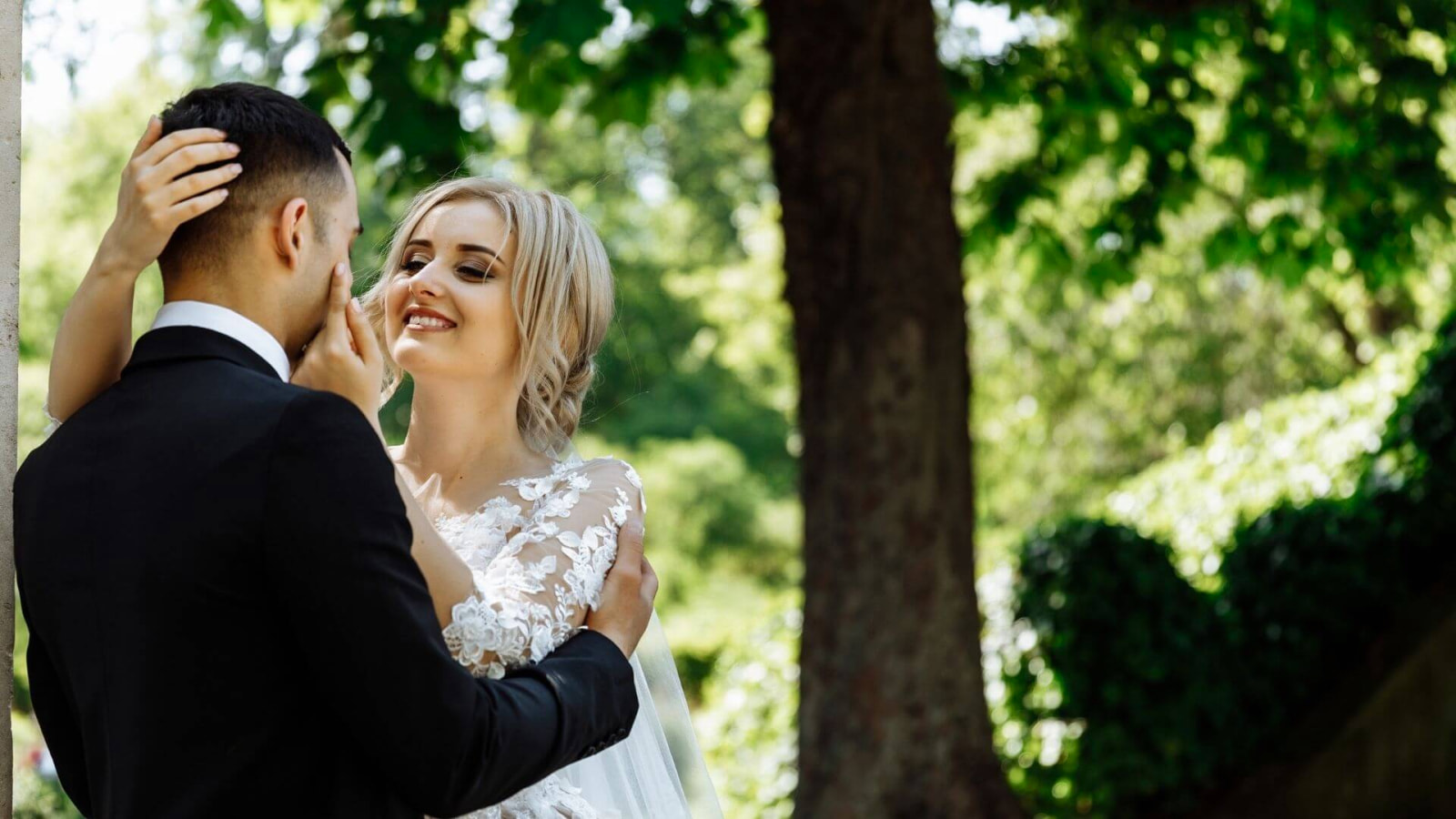 Vue des mariés à Uzès