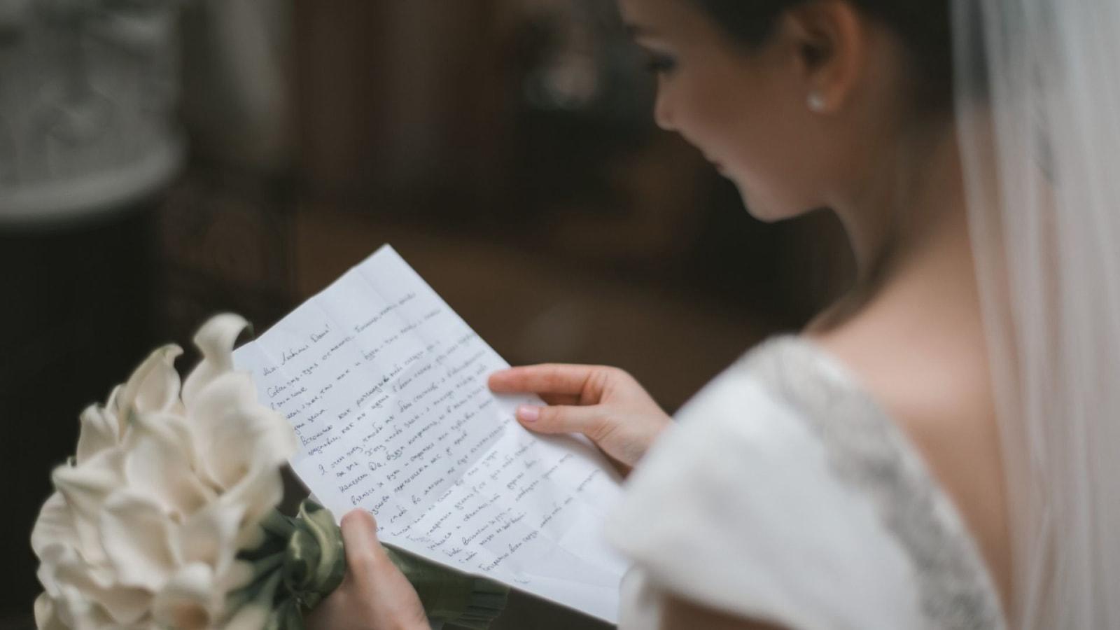 Vue des mariés ensemble à Vertou