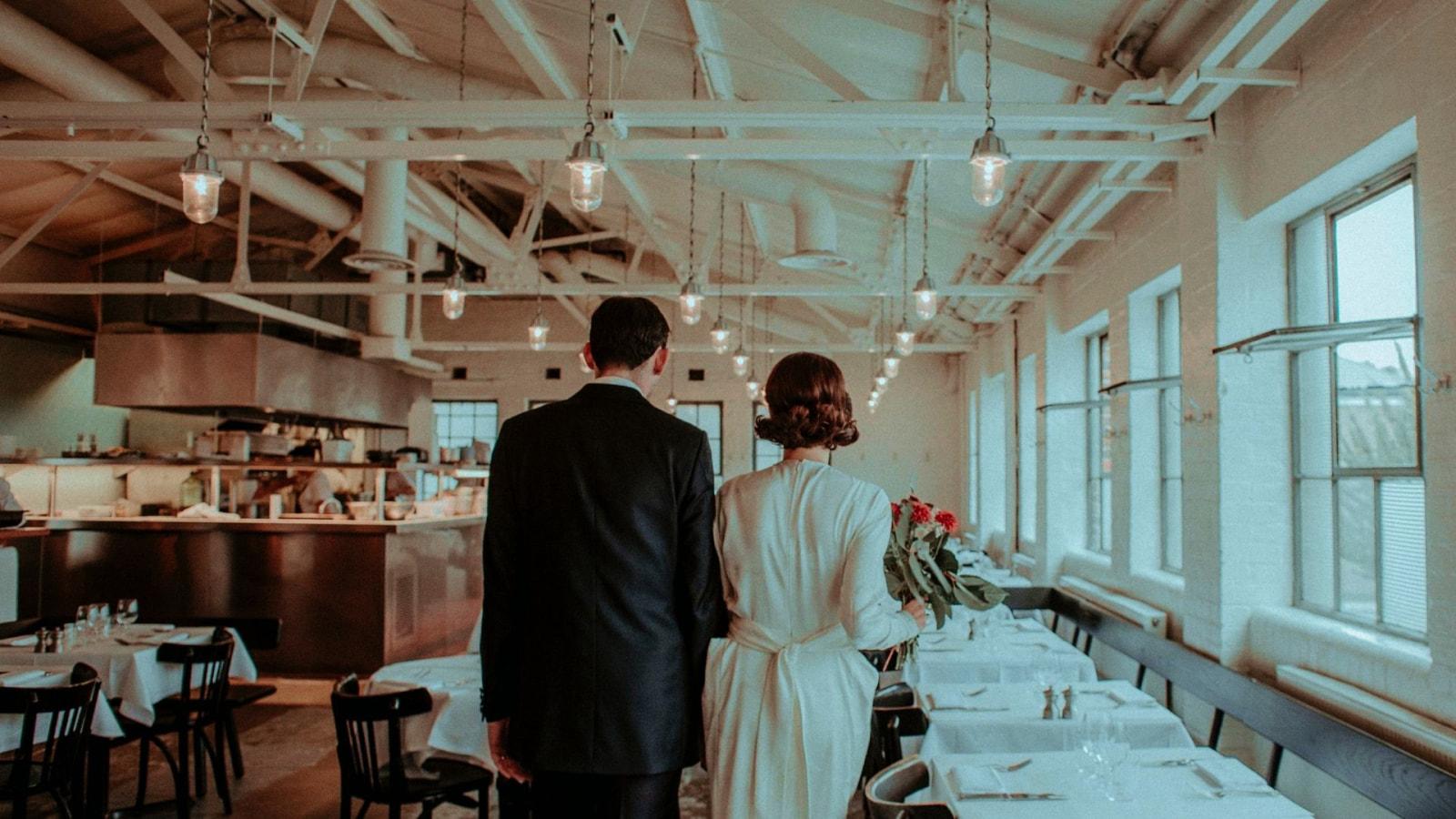 Les mariés dans l'Ain