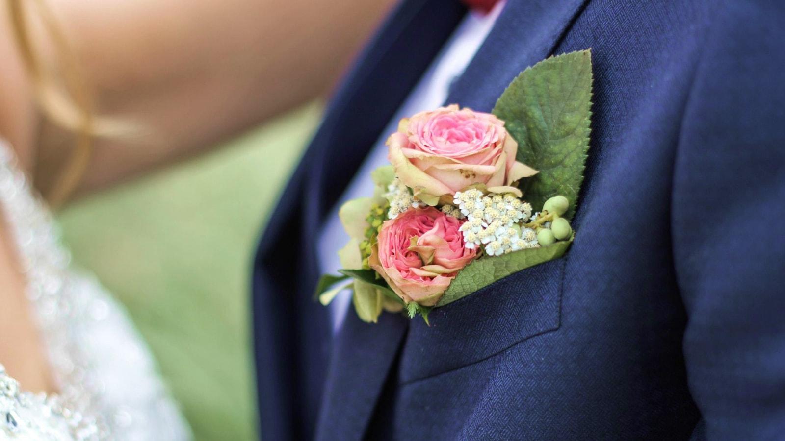 Les mariés dans l'Allier