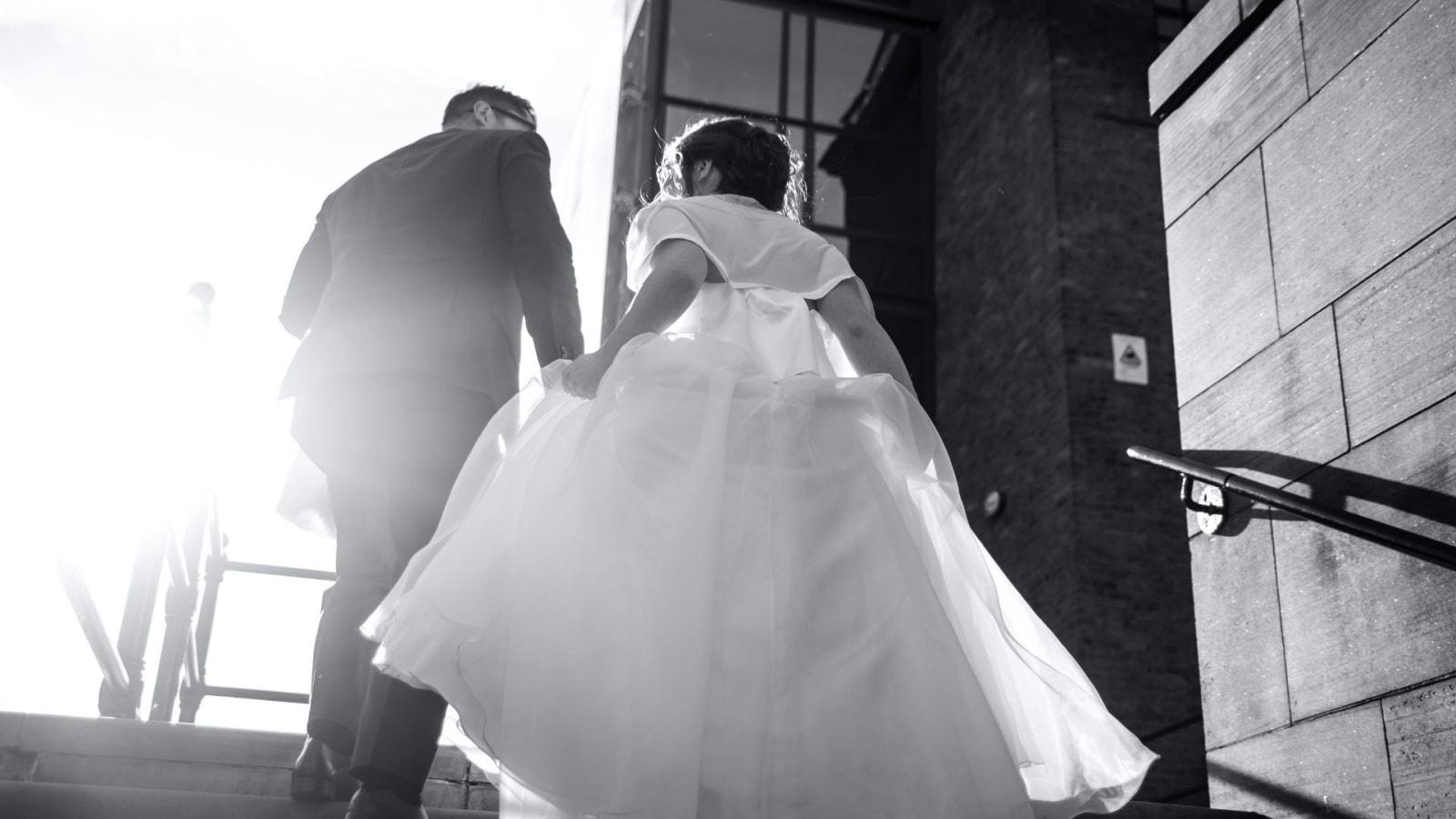 Les mariés dans les Hautes-Alpes