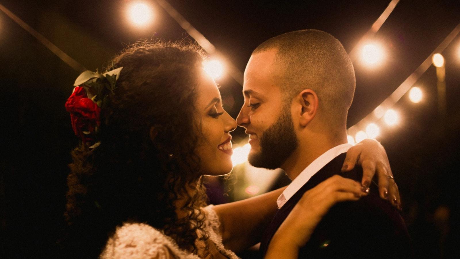 Une photo des mariés ensemble en Haute-Saône