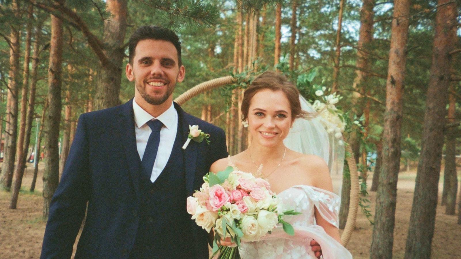Photo des mariés se trouvant en Tarn-et-Garonne