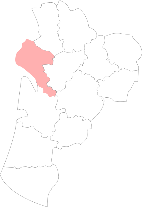 Map Charente-Maritime