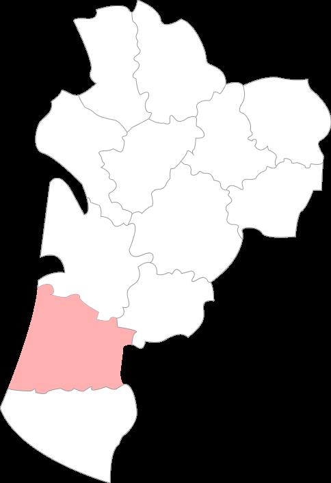 Map landes