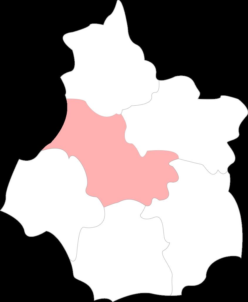 Map Loir-Et-Cher