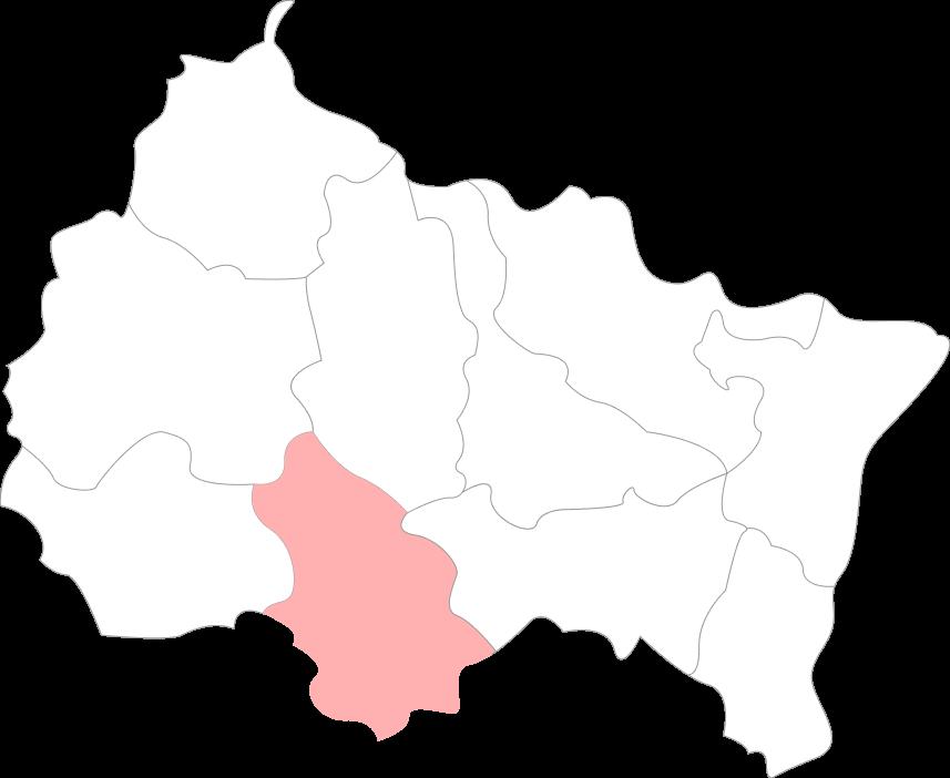 Map de la Haute Marne