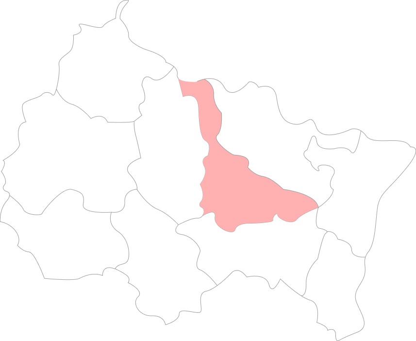 Map de la Meurthe-et-Moselle