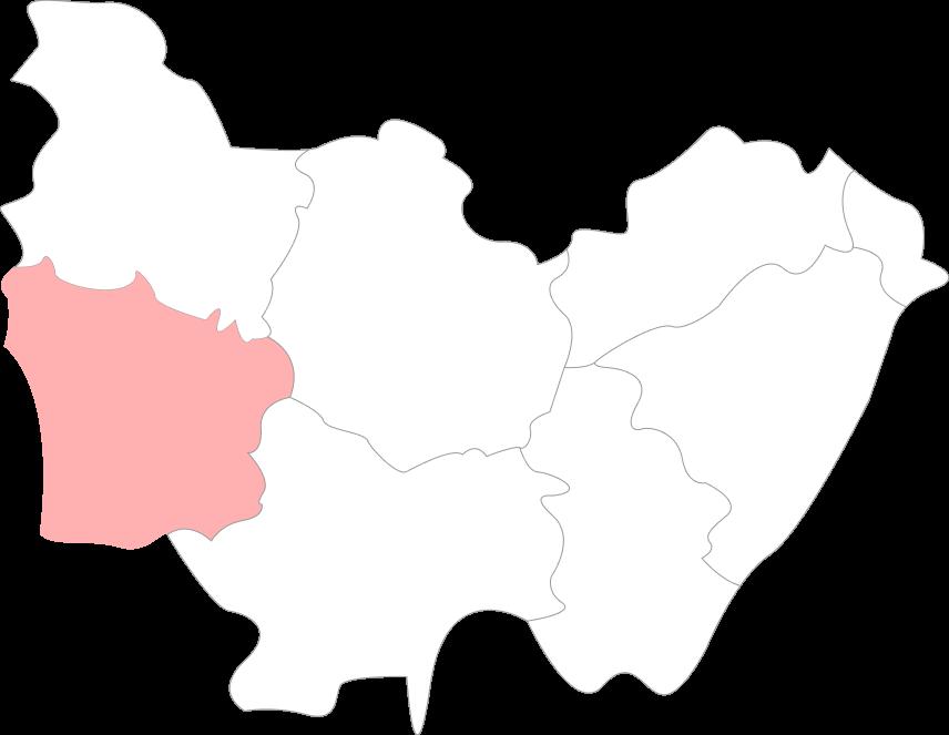 Map de la Nièvre