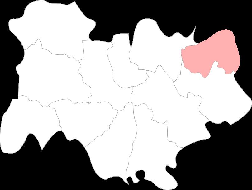 Map de la Haute-Savoie