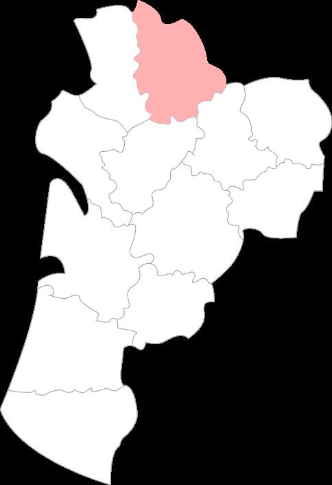 Carte de du département de Vienne